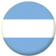 Argentina Civil Flag 25mm Keyring